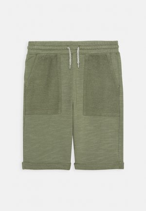 BOYS TEENS - Tracksuit bottoms - khaki
