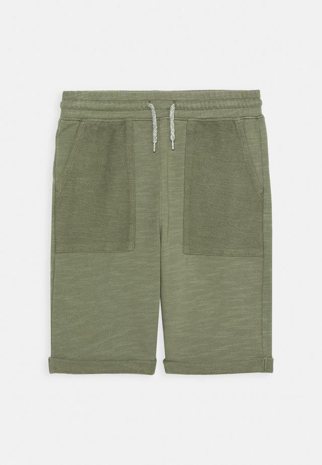 BOYS TEENS - Pantalon de survêtement - khaki