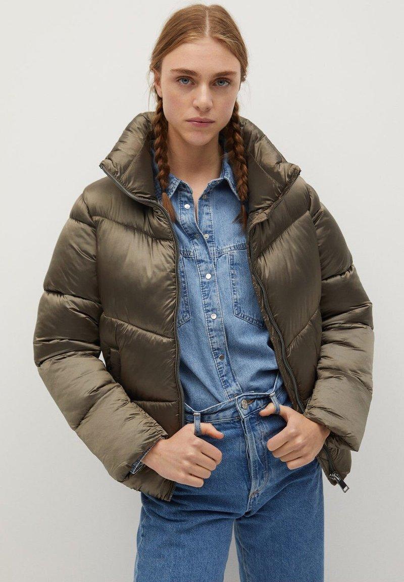 Mango - CLOCK - Winter jacket - grau