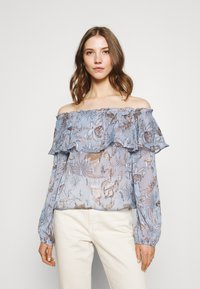 Nly by Nelly - MEET ME AFTER BLOUSE - Camicetta - multi coloured - 0