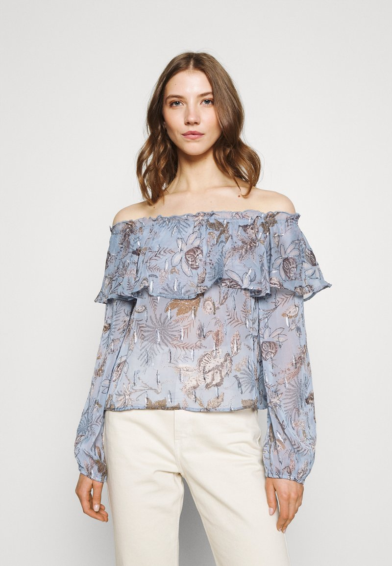 Nly by Nelly - MEET ME AFTER BLOUSE - Camicetta - multi coloured
