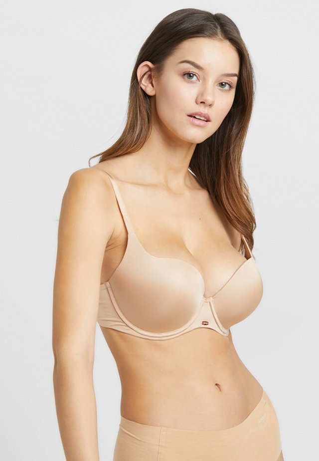 BOOST SWEETHEART PLUNGE BRA - Push-up podprsenka - nude