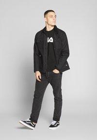 Fila - PURE - Langærmede T-shirts - black - 1