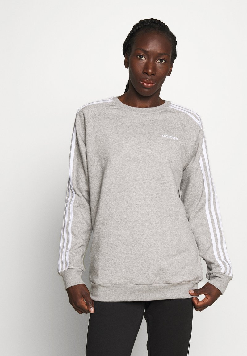 adidas Performance - CREW - Sweatshirt - medium grey heather