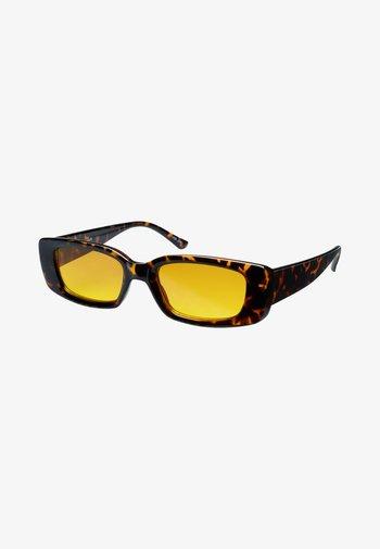 VERTIGO - Sunglasses - mottled brown