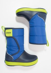 Crocs - LODGEPOINT BOOT RELAXED FIT - Boots - blue jean/navy - 1