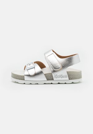 SUNKRO - Sandals - argent
