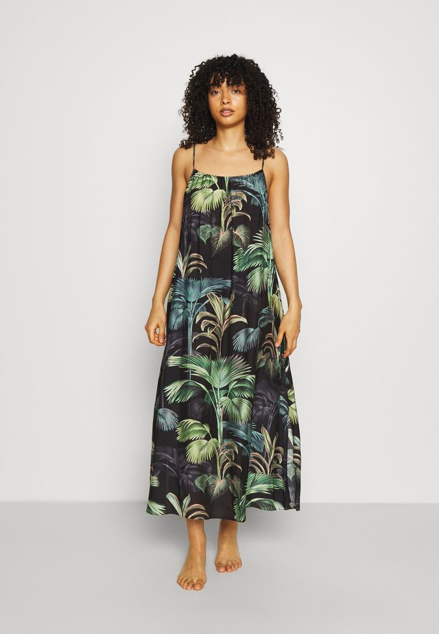 EVOKE MAXI DRESS - Accessorio da spiaggia - green palm