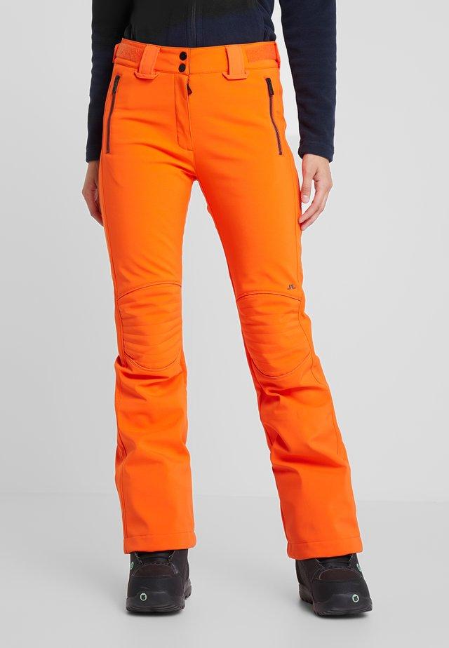STANFORD - Spodnie narciarskie - juicy orange