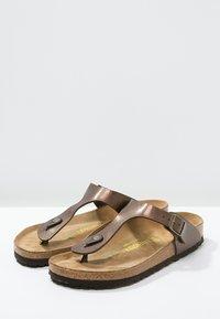 Birkenstock - GIZEH - T-bar sandals - graceful toffee - 4