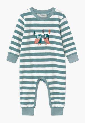 RETRO BABY ROMPER - Pyjamas - stone blue