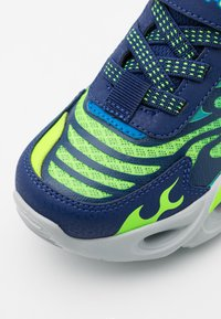 Skechers - THERMO FLASH - Trainers - navy/lime/blue - 5