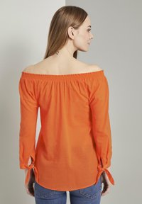 TOM TAILOR - Blouse - strong flame orange - 2