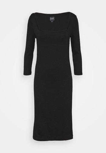 Jersey dress - true black