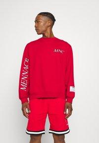 Mennace - COURTSIDE REGULAR - Sweatshirt - red - 0