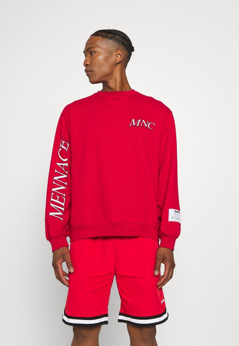 Mennace - COURTSIDE REGULAR - Sweatshirt - red