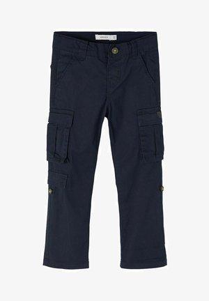 Pantalon cargo - dark sapphire
