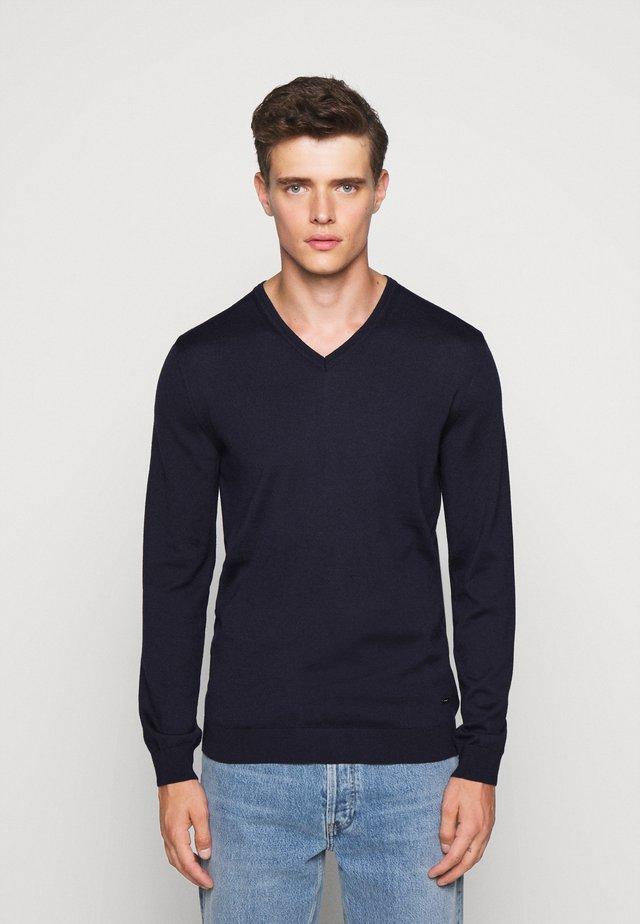 DAMIEN - Sweter - navy