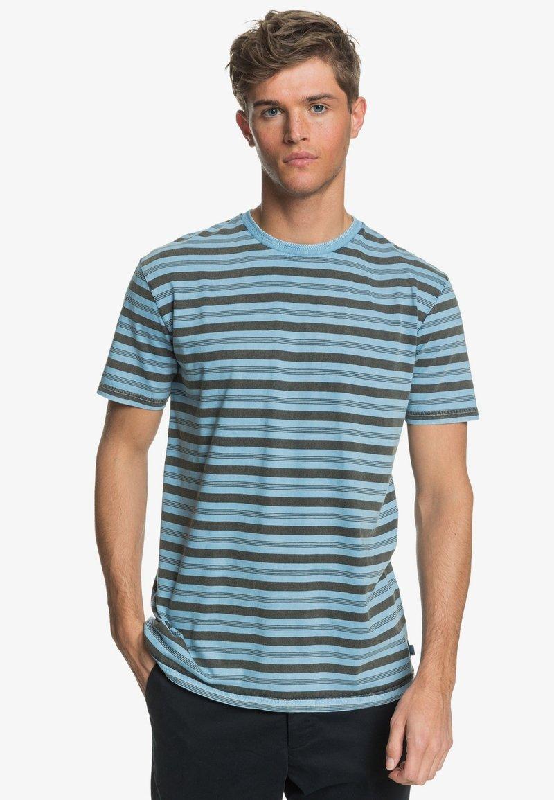 Quiksilver - CAPITOA - Print T-shirt - capitoa airy blue
