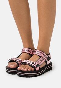 Versace Jeans Couture - Platform sandals - rose - 0