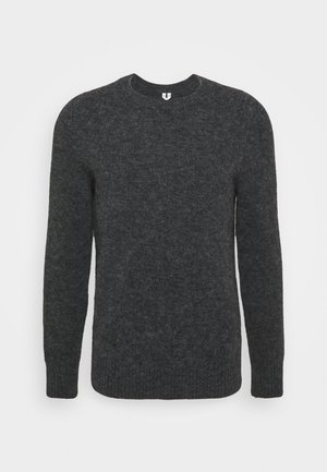 JUMPER - Strikkegenser - dark