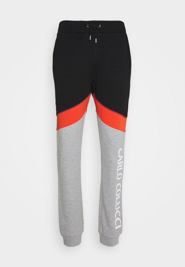 Tracksuit bottoms - black/grey