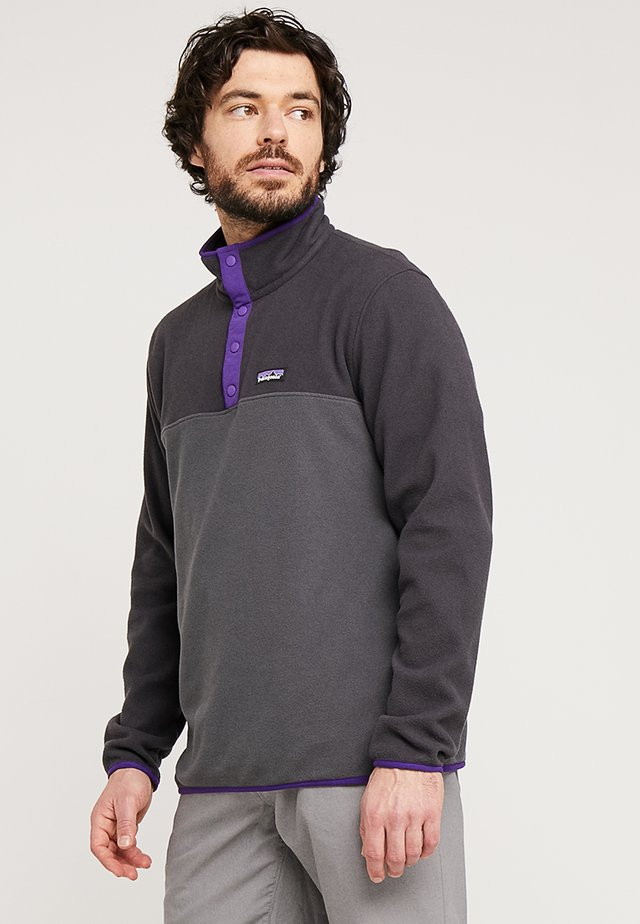 MICRO SNAP - Fleecepullover - forge grey