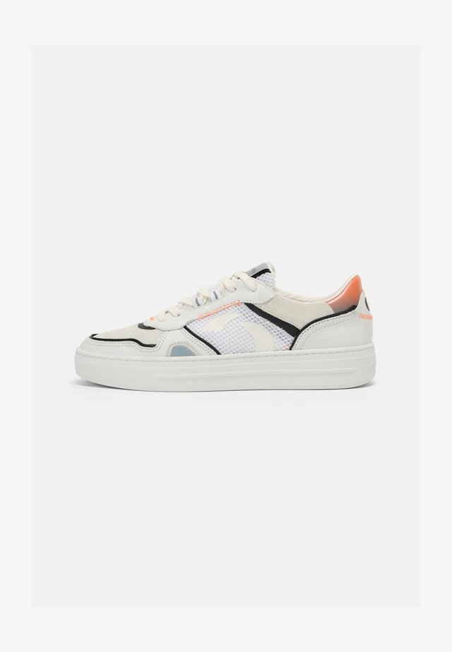 Sneakers laag - white/neon