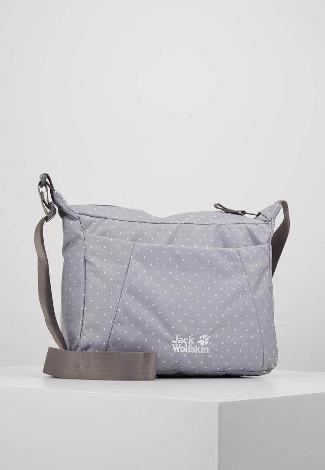 VALPARAISO BAG - Across body bag - alloy