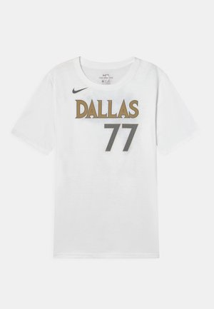 NBA CITY EDITION DALLAS MAVERICKS LUKA DONCIC UNISEX - Club wear - white