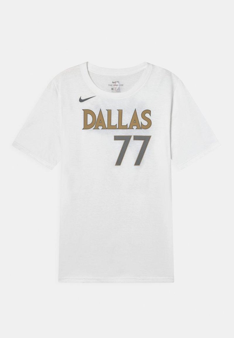 Nike Performance - NBA CITY EDITION DALLAS MAVERICKS LUKA DONCIC UNISEX - Club wear - white