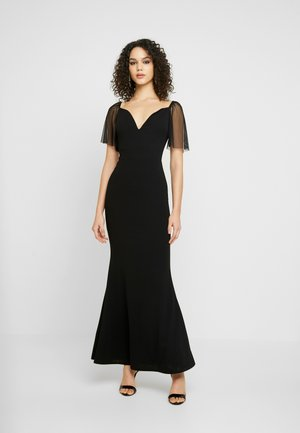 SLEEVE DRESS - Ballkjole - black