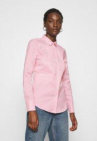 Tommy Hilfiger - SALLY  - Button-down blouse - tabi/radiant carmine - 0