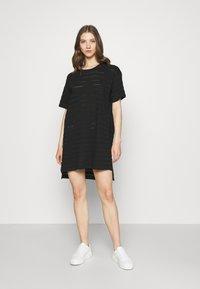 Dedicated - DRESS ALTA - Žerzejové šaty - black - 0