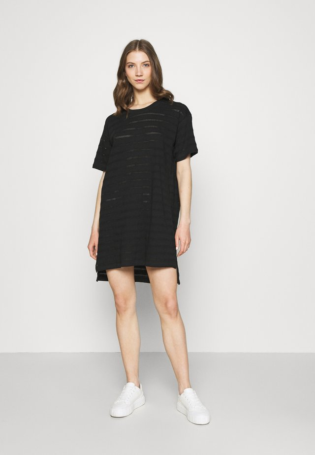 DRESS ALTA - Jersey dress - black