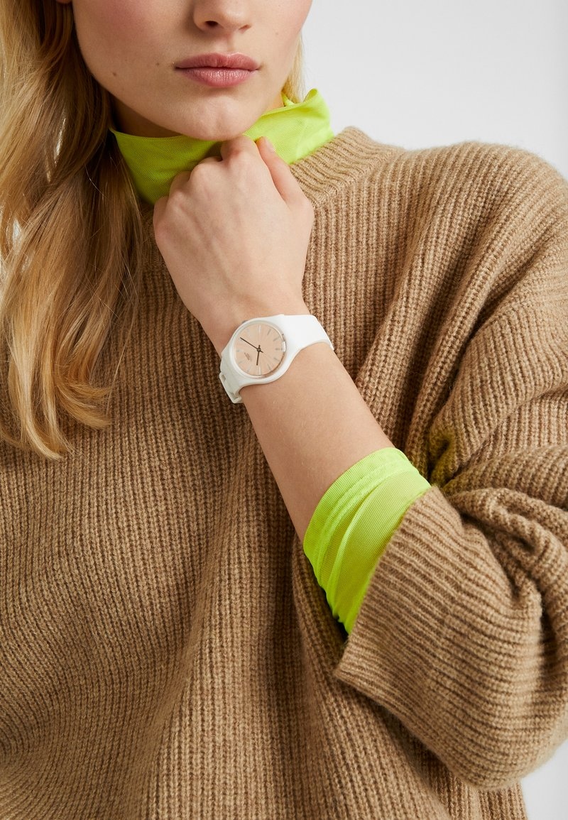 Swatch - DONZELLE - Hodinky - offwhite