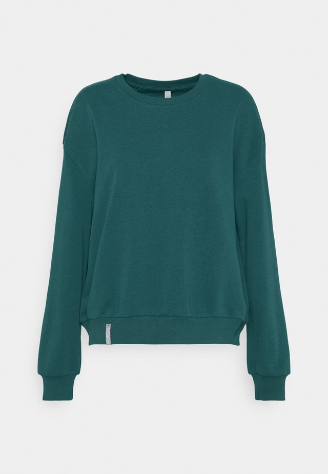 CREWNECK OVERSIZED - Sweatshirt - teal