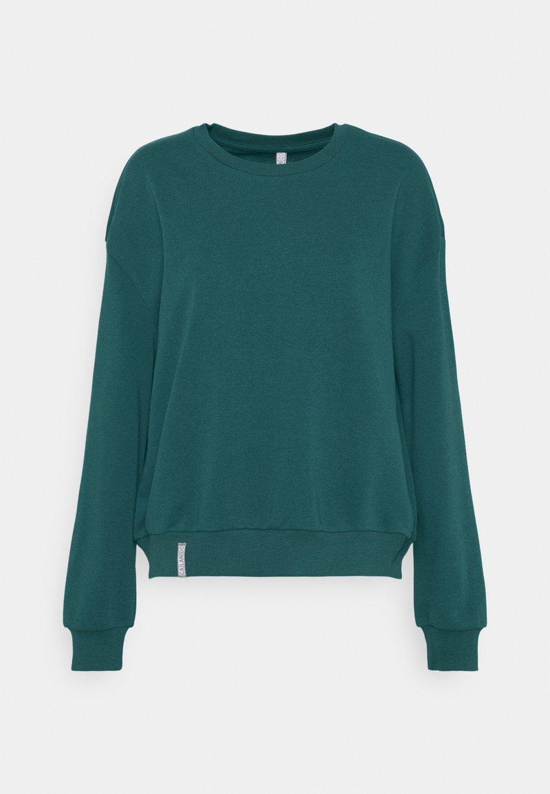 CALANDO - CREWNECK OVERSIZED - Sweatshirt - teal