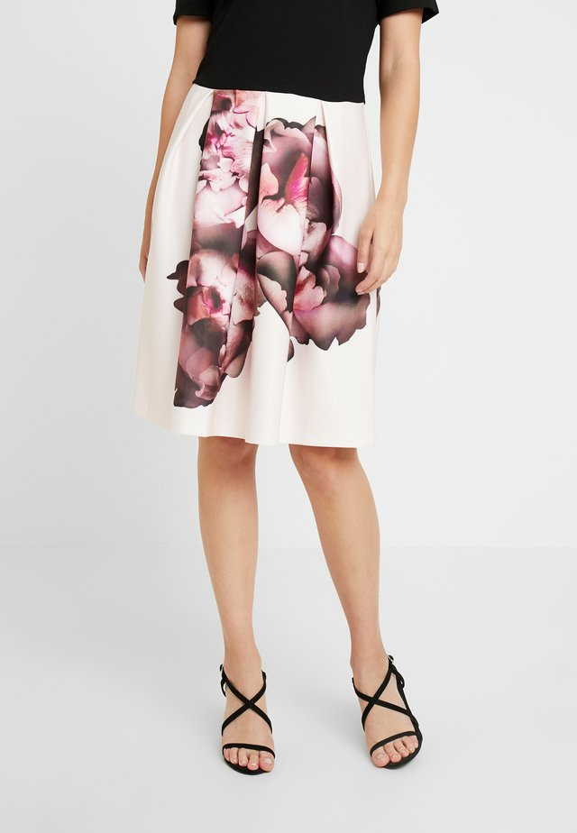 Cocktail dress / Party dress - rose/black