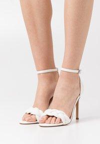 Even&Odd - Sandaalit nilkkaremmillä - white - 0