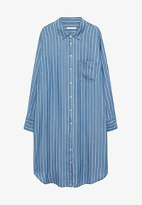 Violeta by Mango - STRIPES - Button-down blouse - mittelblau - 4
