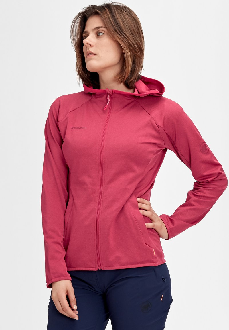 Mammut - Zip-up hoodie - red