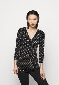 Lauren Ralph Lauren - Long sleeved top - black/white - 0