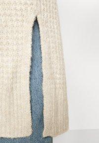 Abercrombie & Fitch - WAFFLE CORE CARDI - Cardigan - grey heather - 5