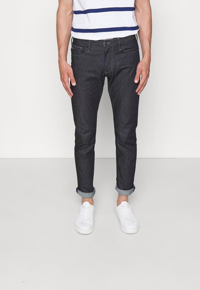 POCKETS PANT - Jeans slim fit - blu navy