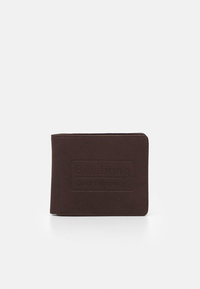 WALLED - Monedero - chocolate