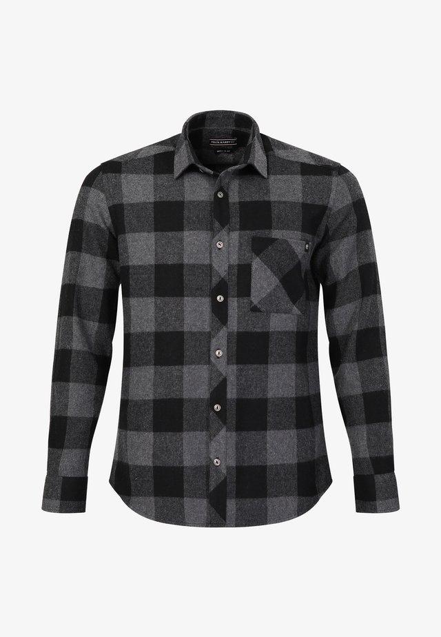Overhemd - grey-black