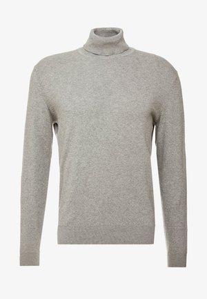 Svetr - mottled light grey