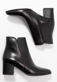 Anna Field - LEATHER BOOTIES - Classic ankle boots - black - 3