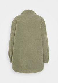 b.young - BYCHALI COAT - Short coat - seagrass - 1